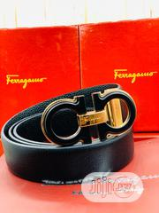Original Salvatore Ferragamo Leather Belt Available | Clothing Accessories for sale in Lagos State, Surulere