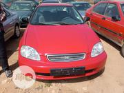 Honda Civic 2000 DX 2dr Coupe Red | Cars for sale in Kaduna State, Kaduna