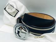 Gucci Canvas Belt | Clothing Accessories for sale in Lagos State, Surulere