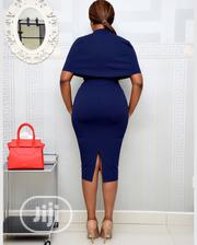 Peplum Cape Dress | Clothing for sale in Lagos State, Surulere