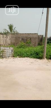 A Plot Of Land With Four Bedroom Flat On It, Built Up To Lintel Level | Houses & Apartments For Sale for sale in Rivers State, Eleme