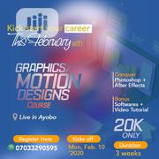 Graphic And Motion Design Training | Computer & IT Services for sale in Lagos State, Ipaja
