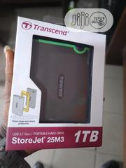 Transcend Portable Hard Drive 1TB | Computer Hardware for sale in Lagos State, Lagos Mainland