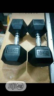 Dumbell 15kg | Sports Equipment for sale in Lagos State