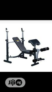 Weight Beach With 50kg Dumbbell | Sports Equipment for sale in Lagos State, Lagos Mainland