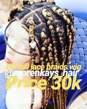 HD Full Lace Big Braids in Store | Hair Beauty for sale in Ogun State, Ado-Odo/Ota