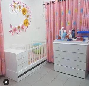Baby Cot & Drawers