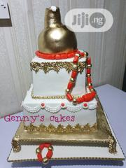 Beautiful Traditional Wedding Cake | Wedding Venues & Services for sale in Lagos State, Oshodi-Isolo