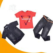 3pieces Turkey Jean And Top | Children's Clothing for sale in Lagos State, Isolo