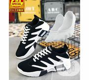 2-in-1 Elegant Casual Athletic Sneakers & Ankle Socks Set | Shoes for sale in Lagos State, Lagos Mainland