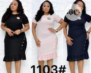 Female Fitted Short Gown | Clothing for sale in Lagos State, Ikeja