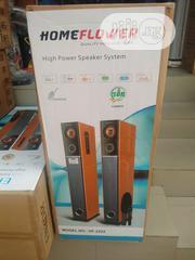 Home Flower High Power Sound System With Mic & Blt.   Audio & Music Equipment for sale in Lagos State, Ikeja