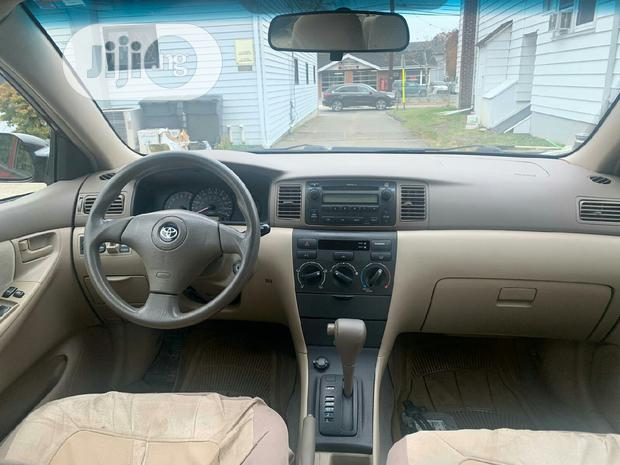 Archive: Toyota Corolla 2007 160i GLE Automatic Red