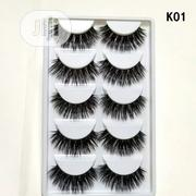 5 Pairs Handmade 3D Mink False Eyelashes K01 | Makeup for sale in Oyo State, Lagelu