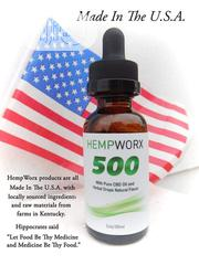 Hempworx Cbd Oil. Made With Purest Hemp Seed | Vitamins & Supplements for sale in Lagos State, Ikeja