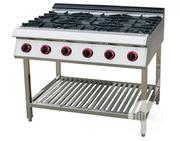 6 Burners Industrial Gas Cooker Without Oven   Restaurant & Catering Equipment for sale in Abuja (FCT) State, Central Business District
