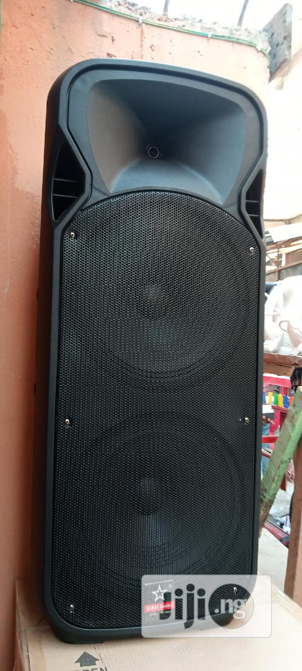 Rechargeable PA System Double 12