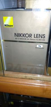 Nikon Lens 24-70mm | Accessories & Supplies for Electronics for sale in Lagos State, Lagos Island