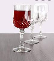 3pcs Quality Wine Glass Cup | Kitchen & Dining for sale in Lagos State, Lagos Island
