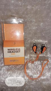 Oraimo Wirelesa Headset (Sport Wireless Stereo Headset) With Mic | Headphones for sale in Lagos State, Ikotun/Igando