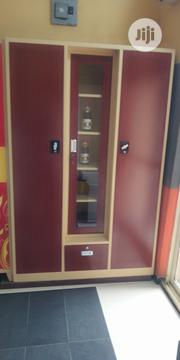 Metal Office Wardrobes With Mirrow | Furniture for sale in Lagos State, Oshodi-Isolo