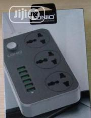 Lonio 6 USB 3 Sockets Power Extension | Accessories for Mobile Phones & Tablets for sale in Lagos State, Ikeja