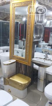 Mini Set Of Wc With Mirror | Home Accessories for sale in Lagos State, Orile