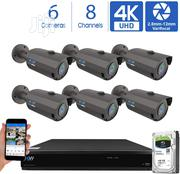 GW 8 Channel 4K H.265 CCTV DVR Security Camera System | Security & Surveillance for sale in Lagos State, Ikeja