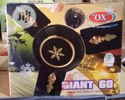 """Original Ox 60"""" Brown Giant Ceiling Fan 