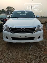 Toyota Hilux 4X4 2014 White | Cars for sale in Abuja (FCT) State, Central Business District