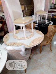 High Quality Imported Round Marble Dining Table With 6 Chairs | Furniture for sale in Lagos State, Lagos Island