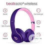 Beats Solo3 Wireless Bluetooth/3.5mm Wired Headphones On Ear | Headphones for sale in Lagos State, Ikeja
