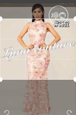 New Female Quality Fitted Long Gown