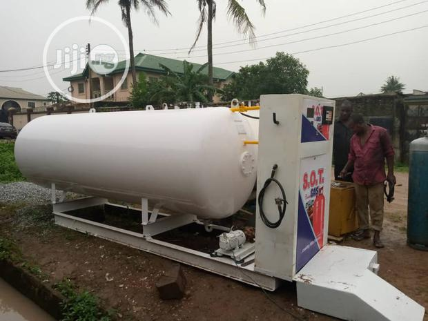 5 Metric Tons Of LPG Tank With Pump And Dispenser
