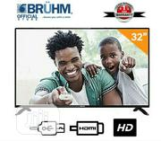 Bruhm 32inch LED Tv + Free Wall Bracket | TV & DVD Equipment for sale in Plateau State, Jos