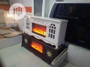TV Stand With Led Fire Work   TV & DVD Equipment for sale in Lagos State, Ojo