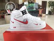 Nike Anckle Sneakers With Red Details | Shoes for sale in Lagos State, Lagos Island