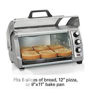 Hamilton Beach Countertop Toaster Oven With Easy Reach Roll-Top Door | Kitchen Appliances for sale in Lagos State, Ikeja