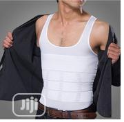 New Men's Body Shaper Belly Underwear Vest Corset- White | Clothing Accessories for sale in Lagos State, Ikeja