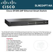 Cisco Smar Switch SF200-24P   Networking Products for sale in Lagos State, Ikeja