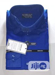 Men's Long Sleeve Office Shirt - Blue | Clothing for sale in Lagos State, Surulere