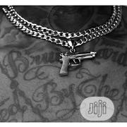 Gun Pendant and Chain | Jewelry for sale in Lagos State, Surulere