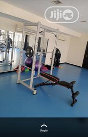 Squat Rack and Adjustable Bench   Sports Equipment for sale in Lagos State, Mushin