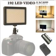 192 LED Video Light 6000k For Canon Nikon DSLR Camera DV Camcorder | Photo & Video Cameras for sale in Lagos State, Ikeja