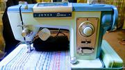 Jones Deluxe Zigzag/Embroidery Sewing Machine | Home Appliances for sale in Lagos State, Agege