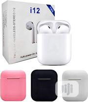 I12 True Wireless Headsets | Accessories for Mobile Phones & Tablets for sale in Lagos State, Gbagada