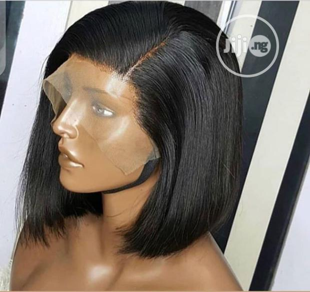 Valentine Promo Super-double Drawn Bob Wig