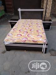 4×6 Bed Frame With Mouka Mattress | Furniture for sale in Lagos State, Ojo