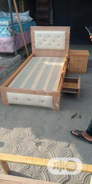 6×3,Bed Frame With Mouka Mattress | Furniture for sale in Lagos State, Ojo