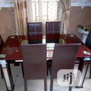 Glass Dinning Table And Chairs | Furniture for sale in Lagos State, Ojo